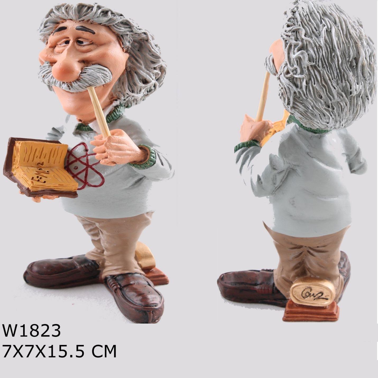 Albert Einstein Özel Dekoratif Biblo