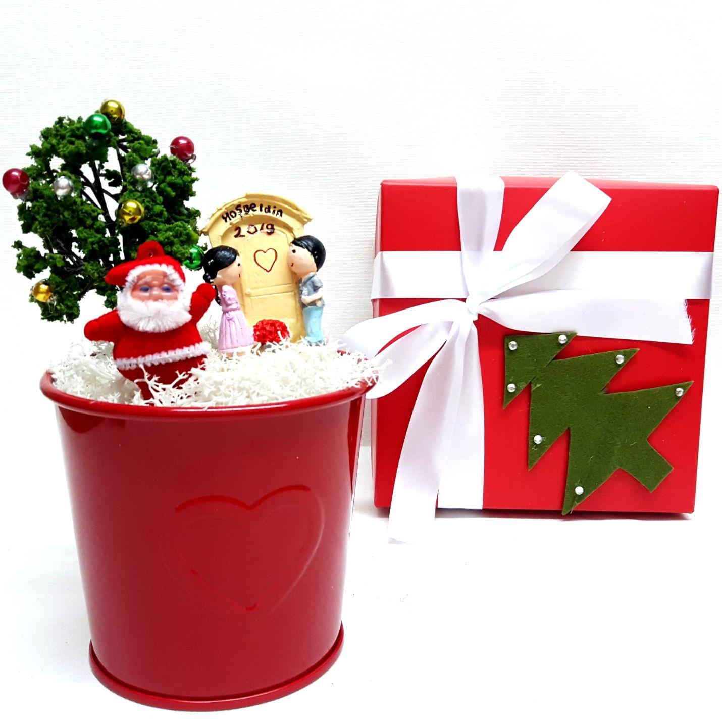 Noel Babalı Hoşgeldin 2021 Minyatür Bahçe Y-02