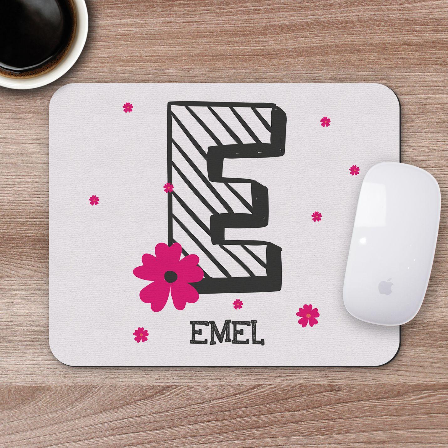 Kişiye Özel İsim Yazılı Mousepad - M6