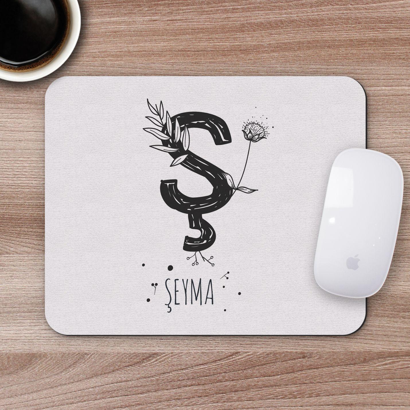 Kişiye Özel İsim Yazılı Mousepad - M22