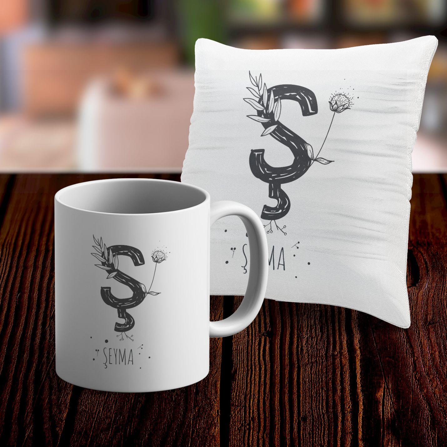 Kişiye Özel Kupa ve Yastık Kılıfı - S22