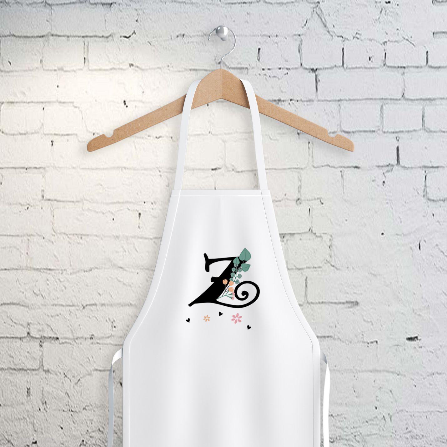 Z Harfi Tasarımlı Mutfak Önlüğü