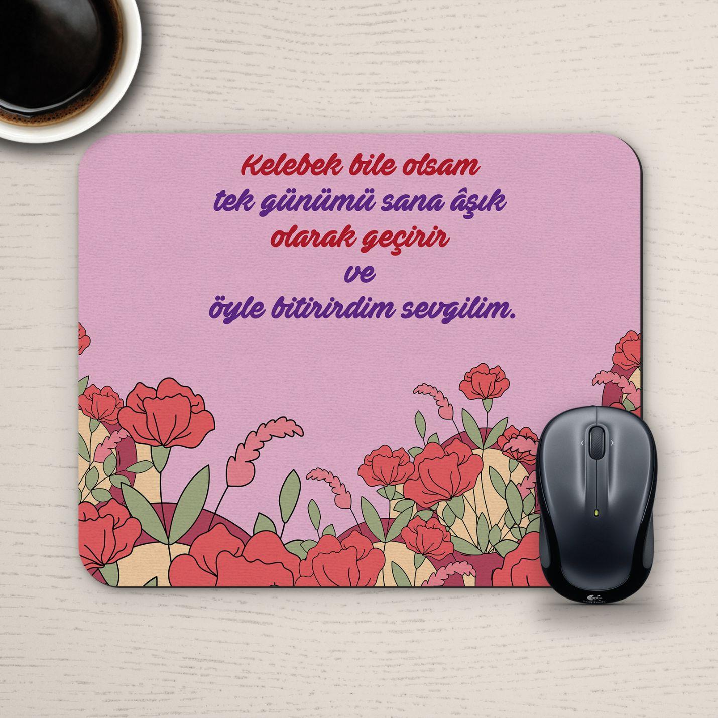 Özel Tasarım Romantik Mousepad - No1