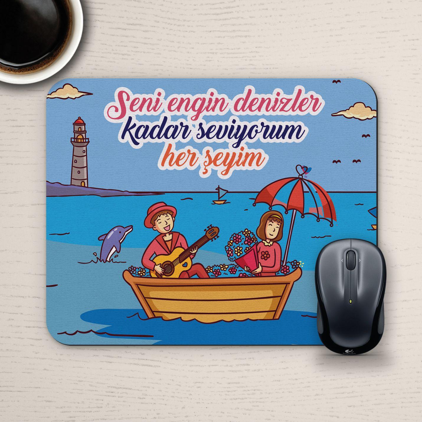 Özel Tasarım Romantik Mousepad - No15