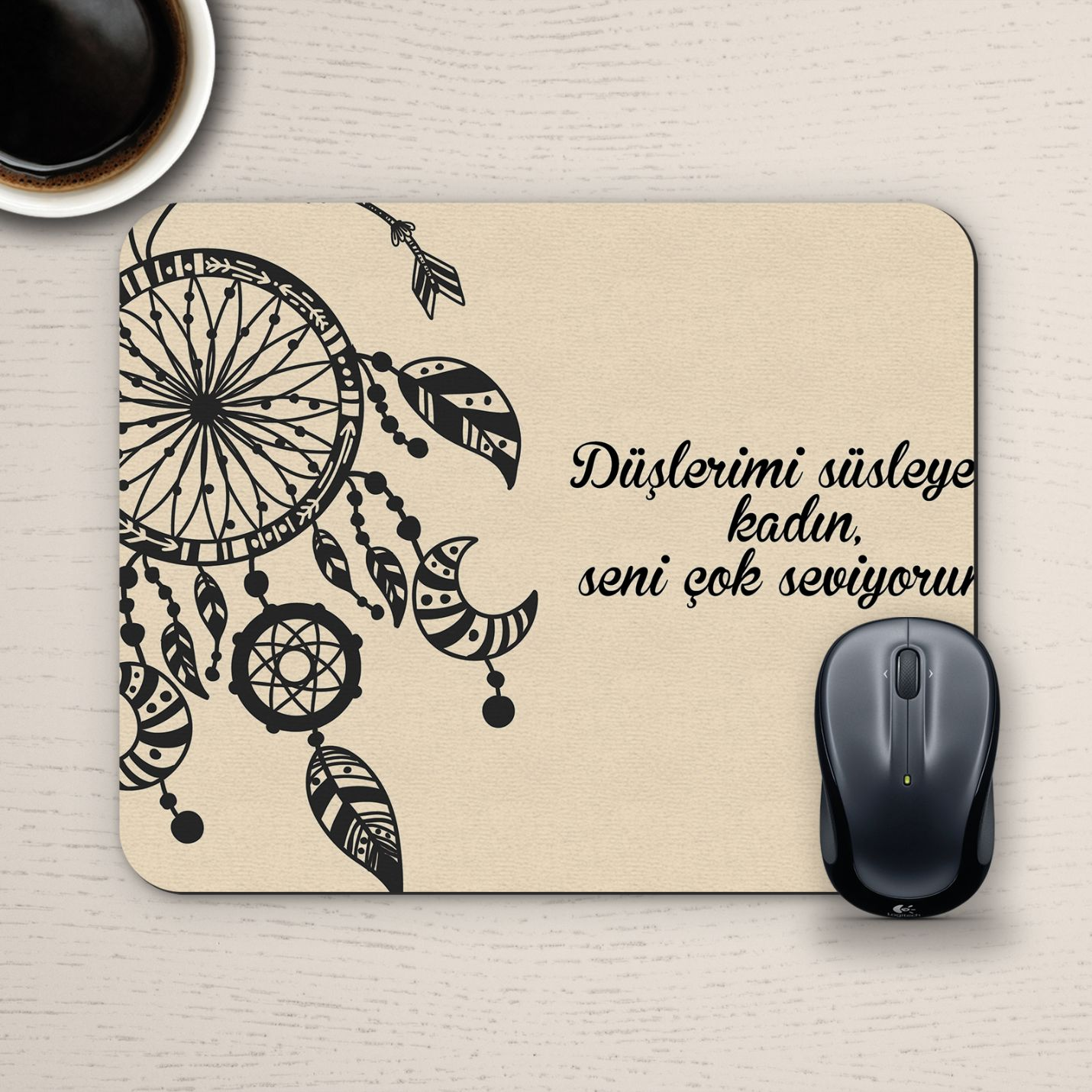 Özel Tasarım Romantik Mousepad - No29