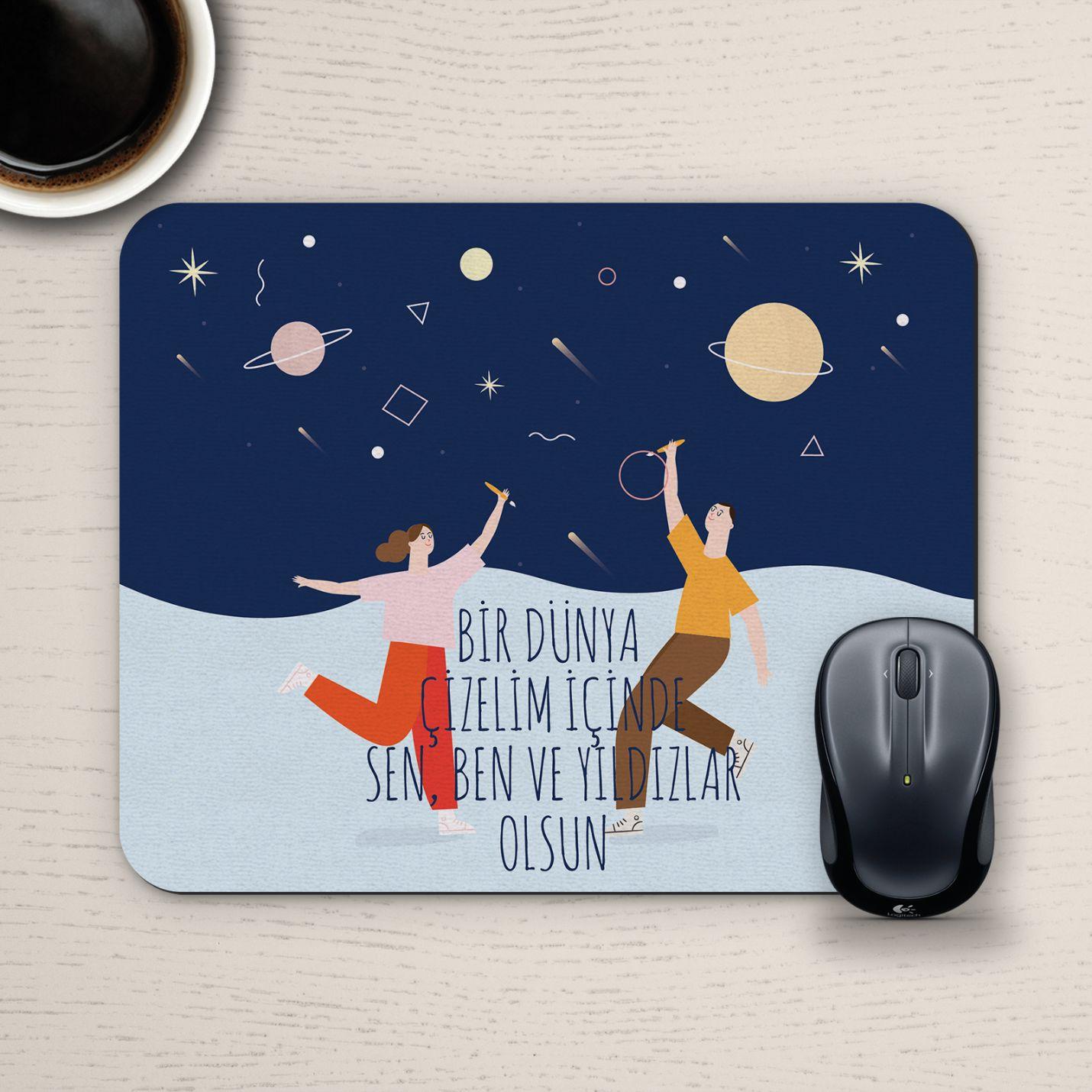 Özel Tasarım Romantik Mousepad - No31