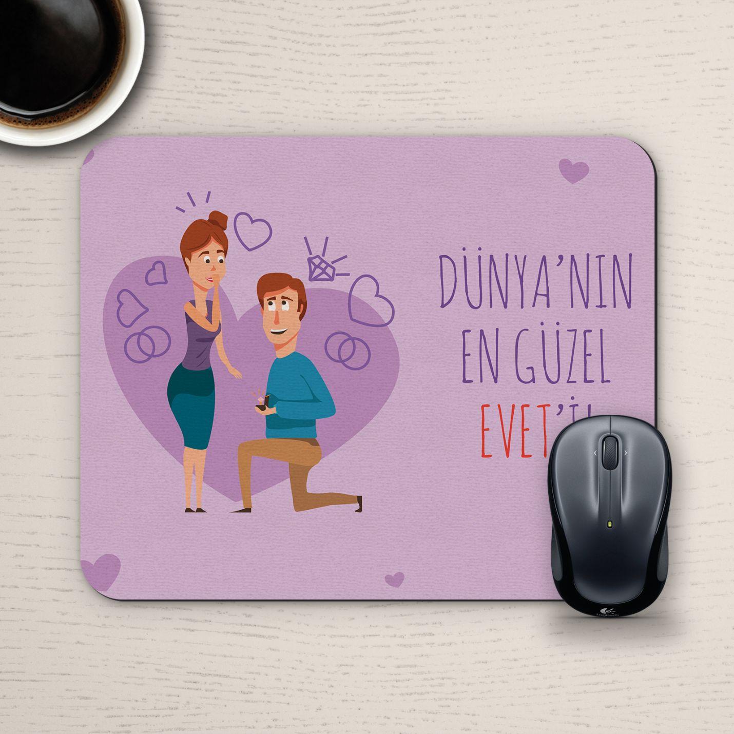Özel Tasarım Romantik Mousepad - No32