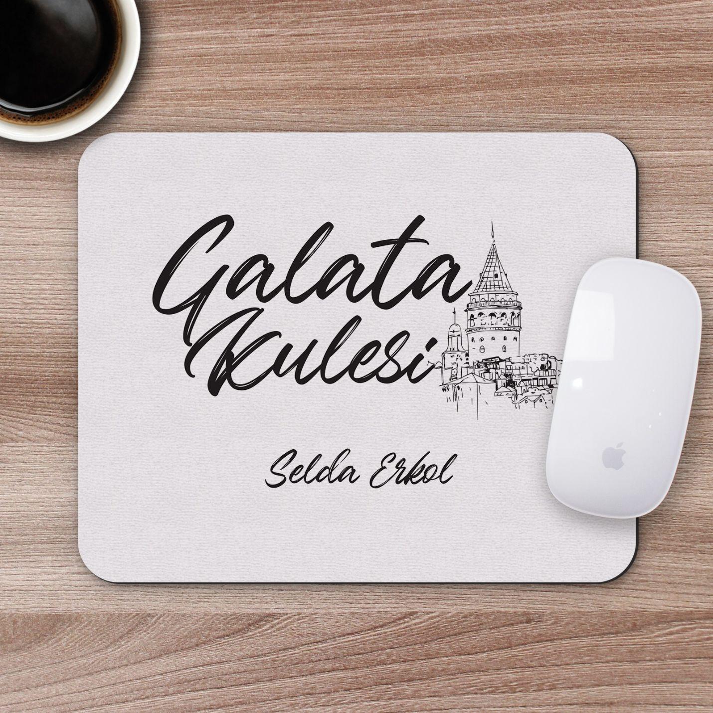 Kişiye Özel Galata Kulesi Tasarımlı Mousepad