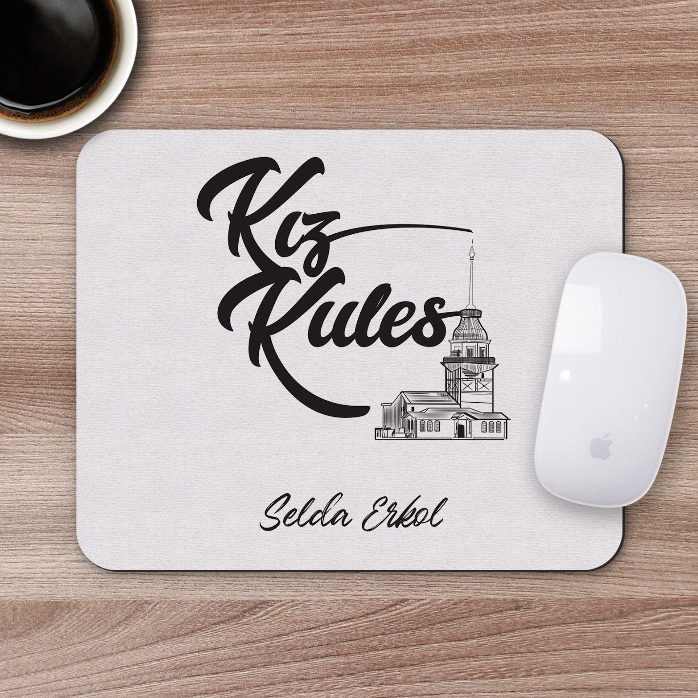 Kişiye Özel Kız Kulesi Tasarımlı Mousepad