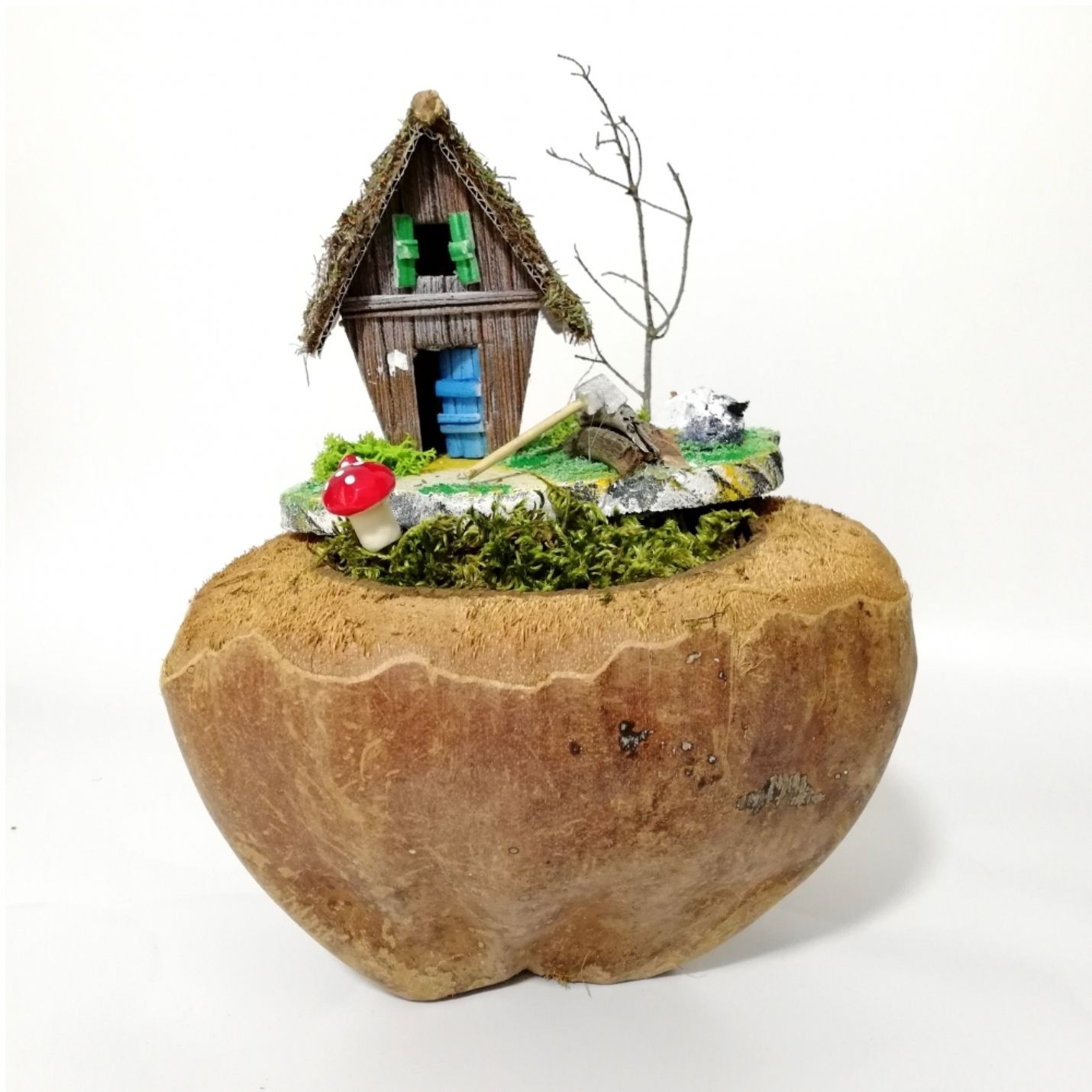 El Yapımı Evde Kal Minyatür Bahçe - Türkiye