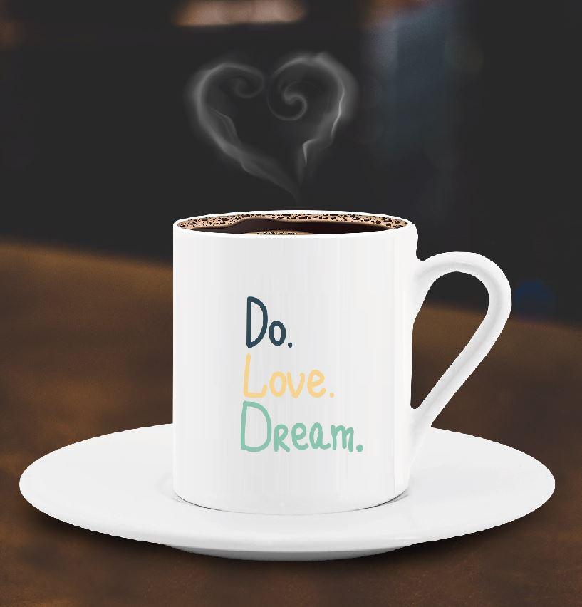 Do Love Dream Türk Kahve Fincanı - 8