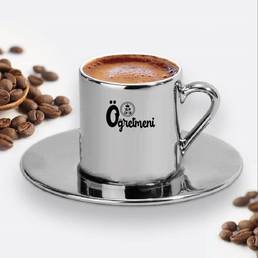 Yıldız Tasarımlı Türk Kahve Fincanı - 18