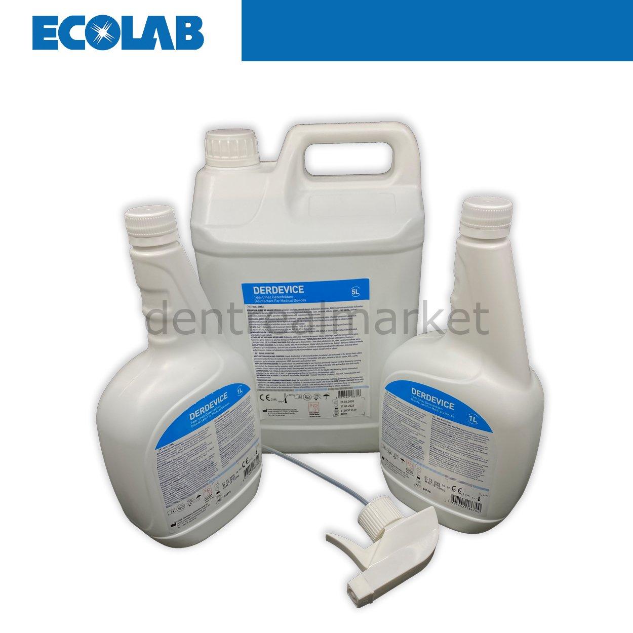 Derdevice Alkolsüz Hızlı Yüzey Dezenfektanı Seti
